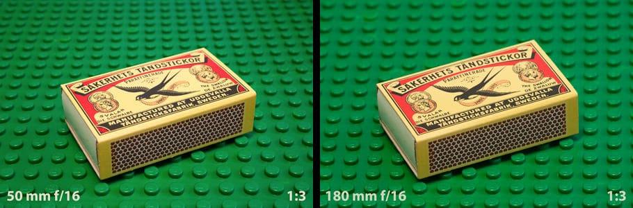 Scherptediepte en sensorgrootte. Met een kleinere sensor meer scherptediepte? Ja en nee.